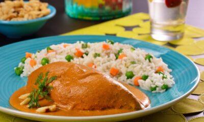 receta de pollo encacahuatado en 15 minutos facil y practico