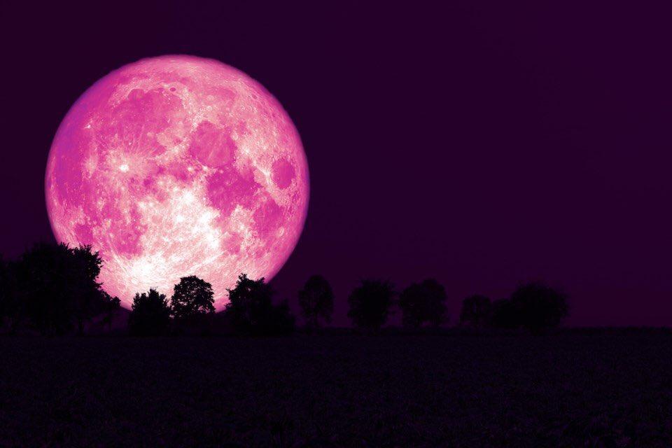 La Superluna Rosa: ¿Qué es y cuando ocurrirá?