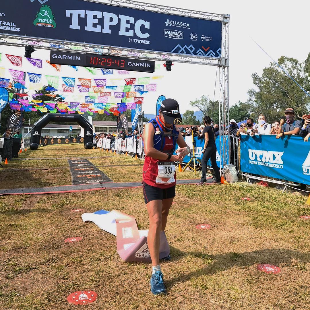 Jael Morales, embajadora de La Sportiva, triunfó en Tepec Trail y llega a la final de la GTNS